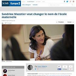 Sandrine Mazetier veut changer le nom de l'école maternelle