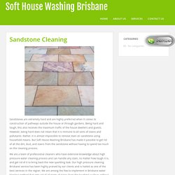 Sandstone Cleaning -