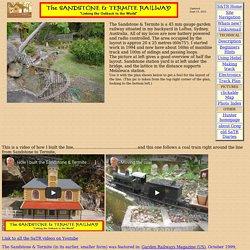 Sandstone & Termite Garden Railway