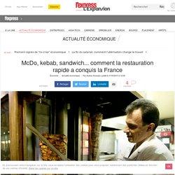 McDo, kebab, sandwich... comment la restauration rapide a conquis la France
