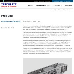 Sandwich Bus Duct System Suppliers