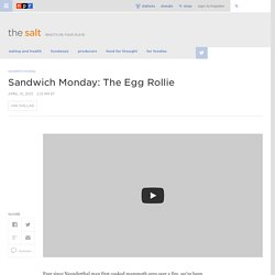 Sandwich Monday: The Egg Rollie