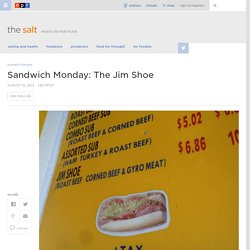 Sandwich Monday: The Jim Shoe
