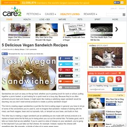 5 Vegan Sandwich Recipes