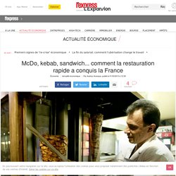 McDo, kebab, sandwich... comment la restauration rapide a conquis la France - L'Express L'Expansion