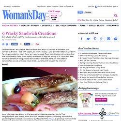 Sandwich Ideas - Unique Sandwiches at WomansDay