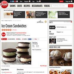 Ice Cream Sandwiches Recipe