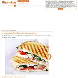 Club sandwich : idées