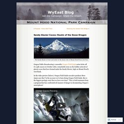Sandy Glacier Caves: Realm of the Snow Dragon