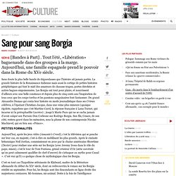 Sang pour sang Borgia