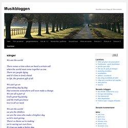 Musikbloggen