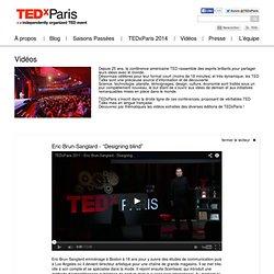 """Eric Brun-Sanglard – """"Designing blind"""""""