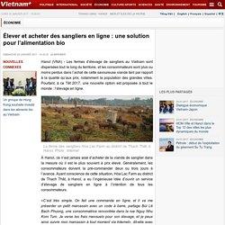 Élever et acheter des sangliers en ligne : une solution pour l'alimentation bio