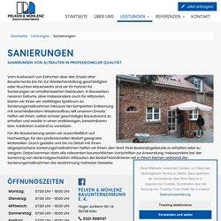 Sanierungen – Pelken & Mühlenz Bauunternehmung