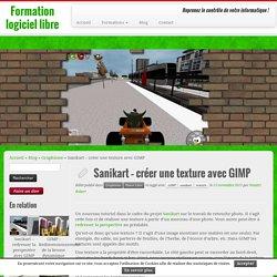 Sanikart – créer une texture avec GIMP