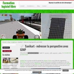 Sanikart – redresser la perspective avec GIMP