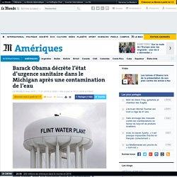 Barack Obama décrète l'état d'urgence sanitaire dans le Michigan après une contamination de l'eau