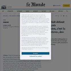 Crise sanitaire: «Ce qui fait défaut dans notre système français d'enseignement si cartésien, c'est la prise en compte des émotions, des affects»