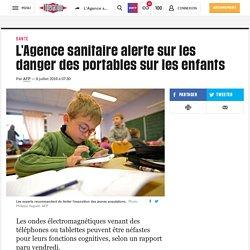 L'Agence sanitaire alerte sur les danger des portables sur les enfants