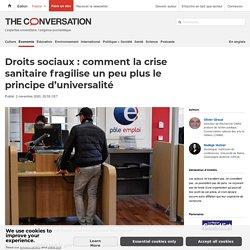 Droits sociaux : comment la crise sanitaire fragilise un peu plus le principe d'universalité