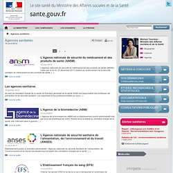 Agences sanitaires
