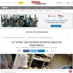 """AFP 17/06/16 Le """"smiley"""" des contrôles sanitaires agace les restaurateurs"""