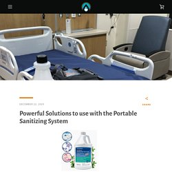 Powerful Solutions to use with the Portable Sanitizing System – ExtremeMist PSS