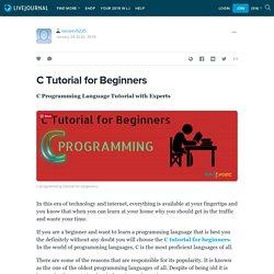 C Tutorial for Beginners: sanjeev5225 — LiveJournal