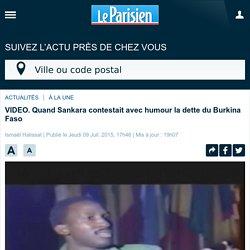 Quand Sankara contestait avec humour la dette du Burkina Faso