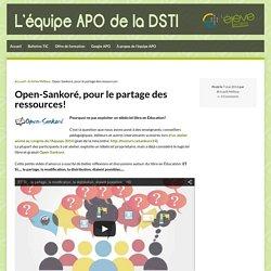 Open-Sankoré, pour le partage des ressources!