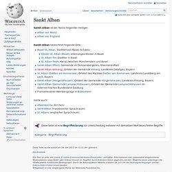 Sankt Alban