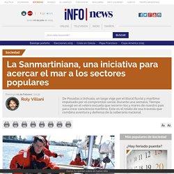 La Sanmartiniana, una iniciativa para acercar el mar a los sectores populares