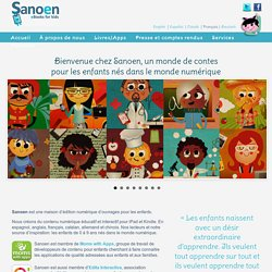 Sanoen - eBooks for Kids -