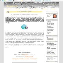 Blog et glob