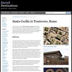 Santa Cecilia in Trastevere - Rome, Italy