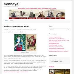 B1U8 Santa vs. Grandfather Frost