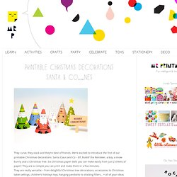 Santa & Co Paper Dolls