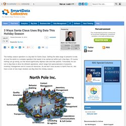 Santa Claus and Big Data