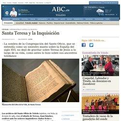 """M. CALVO """"Santa Teresa y la Inquisición"""""""