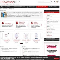 Santé et hygiène Prévention BTP