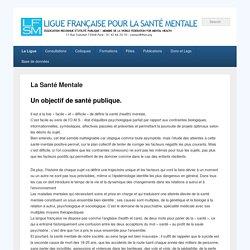 Ligue Française pour la Santé Mentale