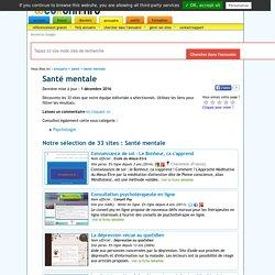 Santé mentale : les 33 meilleurs sites (Santé)