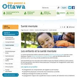 Santé mentale - Ottawa Santé publique