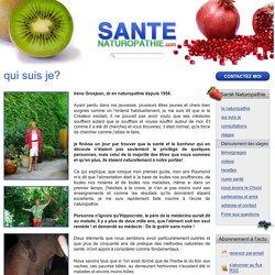 Santé Naturopathie - qui suis je?