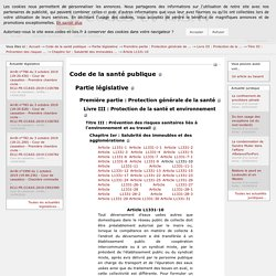 Code de la santé publique - Article L1331-10