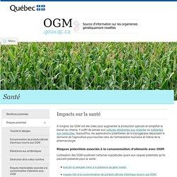 1a - OGM : Risques potentiels pour la santé