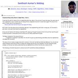 "Santhosh Kumar's Weblog : <a href="" Kumar's Weblog</a>"