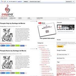 Santiago de Murcia Archive - Classclef