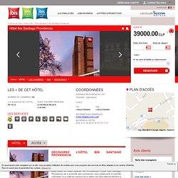 Hôtel ibis Santiago Providencia - Réservez votre hôtel pas cher à SANTIAGO