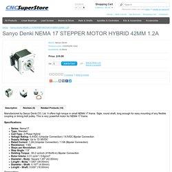 Sanyo Denki NEMA 17 STEPPER MOTOR HYBRID 42MM 1.2A
